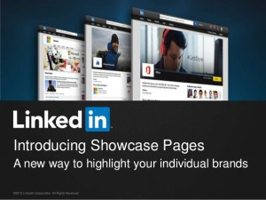 linkedin showcase page for your business