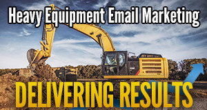 heavy equipment email banner